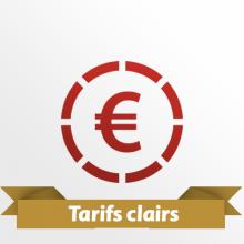 tarifs clairs